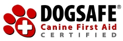 DOGSAFE ® Canine First Aid Certified - website opens in new window
